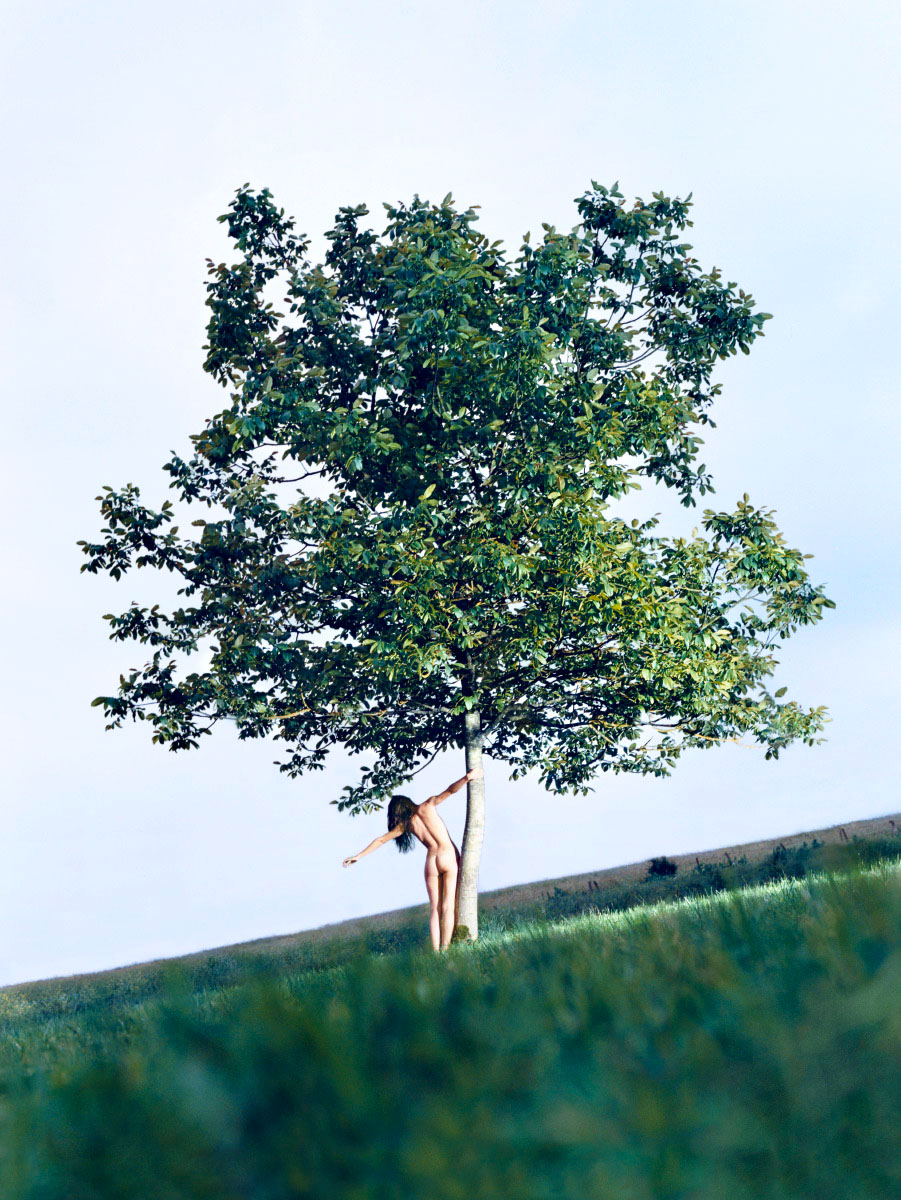 Rosie Huntington for Vogue China