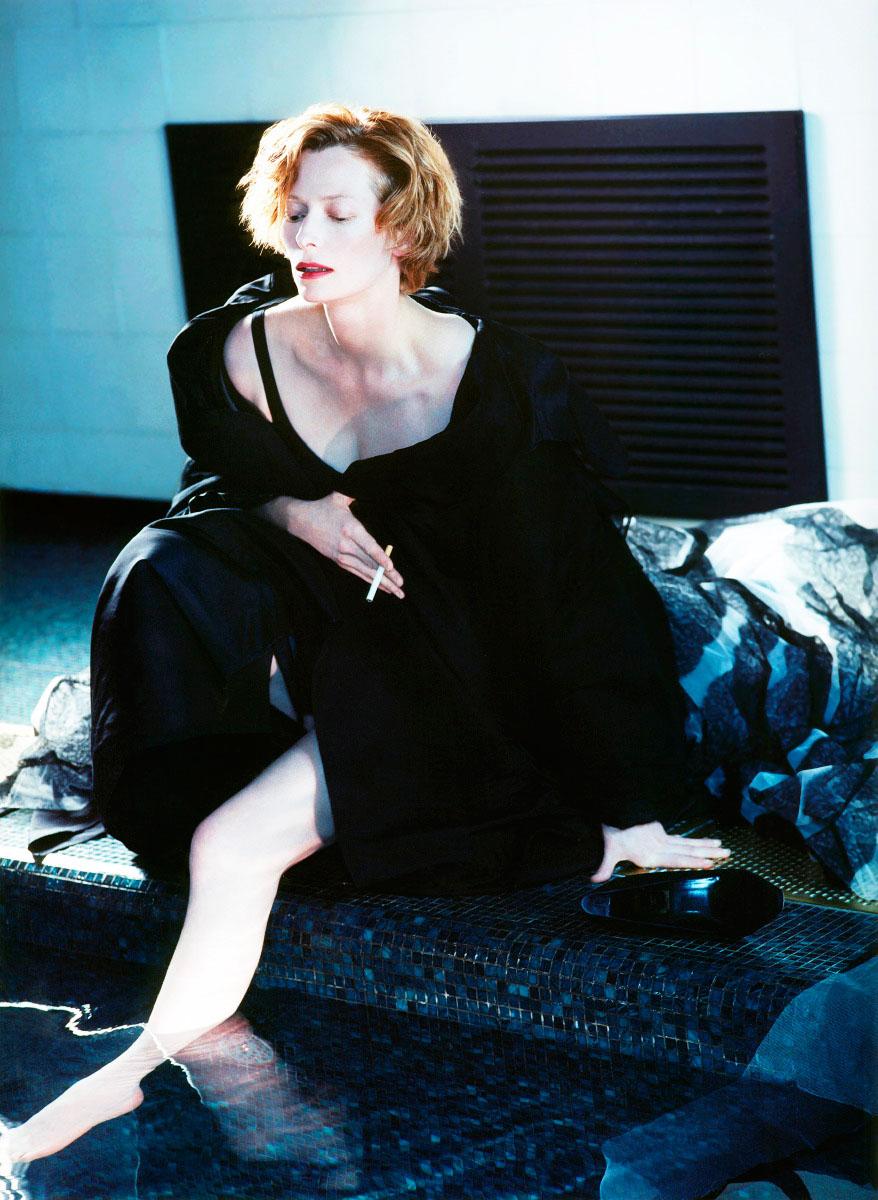 Tilda Swinton for Interview Magazine