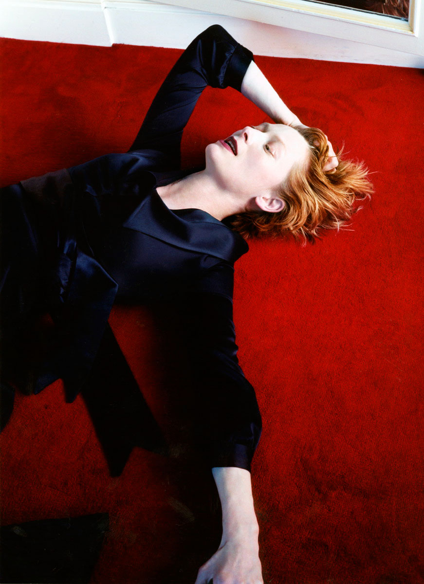 Tilda Swinton for Interview Magazine