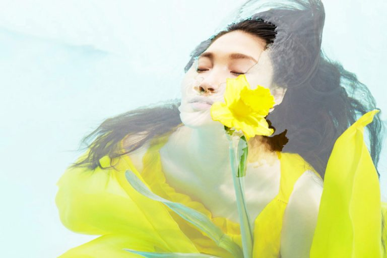 Water Vogue China Beauty by Sophie Delaporte
