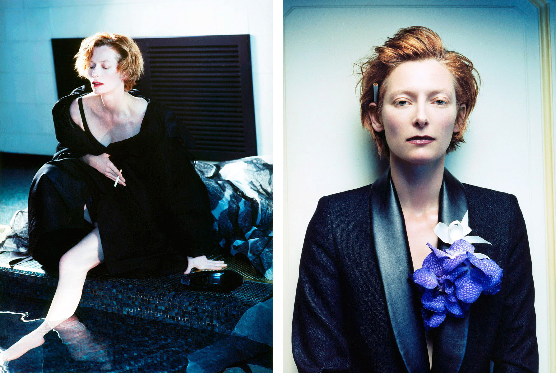 Tilda Swinton by Sophie Delaporte for Interview